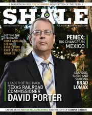 SHALE Magazine Cover Commissioner David Porter