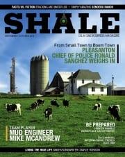 SHALE Magazine Cover September October 2013