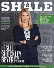 SHALE Oil & Gas Business Magazine - New President of PESA Leslie Shockley Beyer