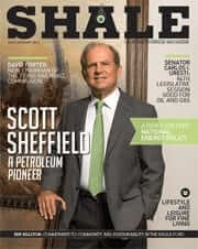 Shale Oil & Gas Business Magazine July/August Cover Scott Sheffield - Pioneer Natural Resources
