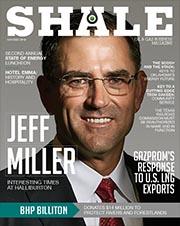 Jeff Miller Halliburton Cover Shale Magazine Nov/Dec 2016