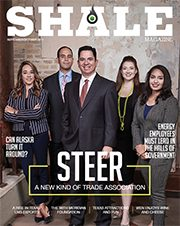 South Texas Energy and Economic Roundtable SHALE Magazine Cover 180x226