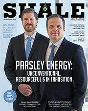 SHALE March April 2018 Cover Parsley Energy Brian Sheffield 180x226