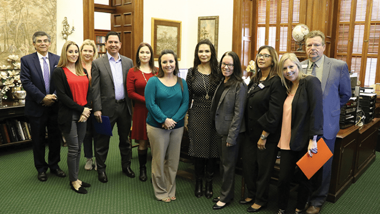 South Texans Visit the State Capitol to Address Regional Issues