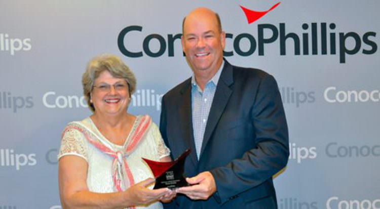glynis holm strause conocophillips in the oil patch radio show shale oil & gas business magazine