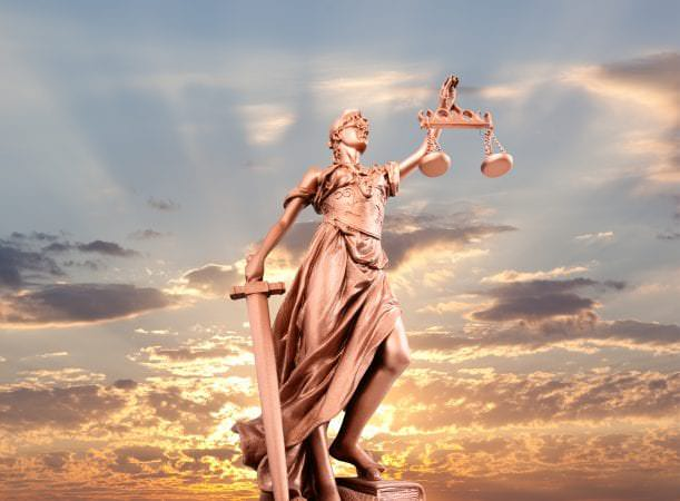 Balance and Diffusion of Power by David Porter - justice statue