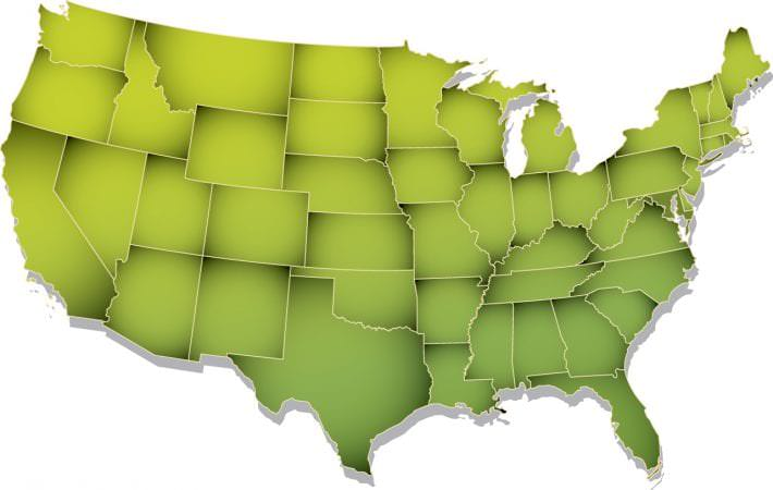 SHALE Play Short Takes - United States Map